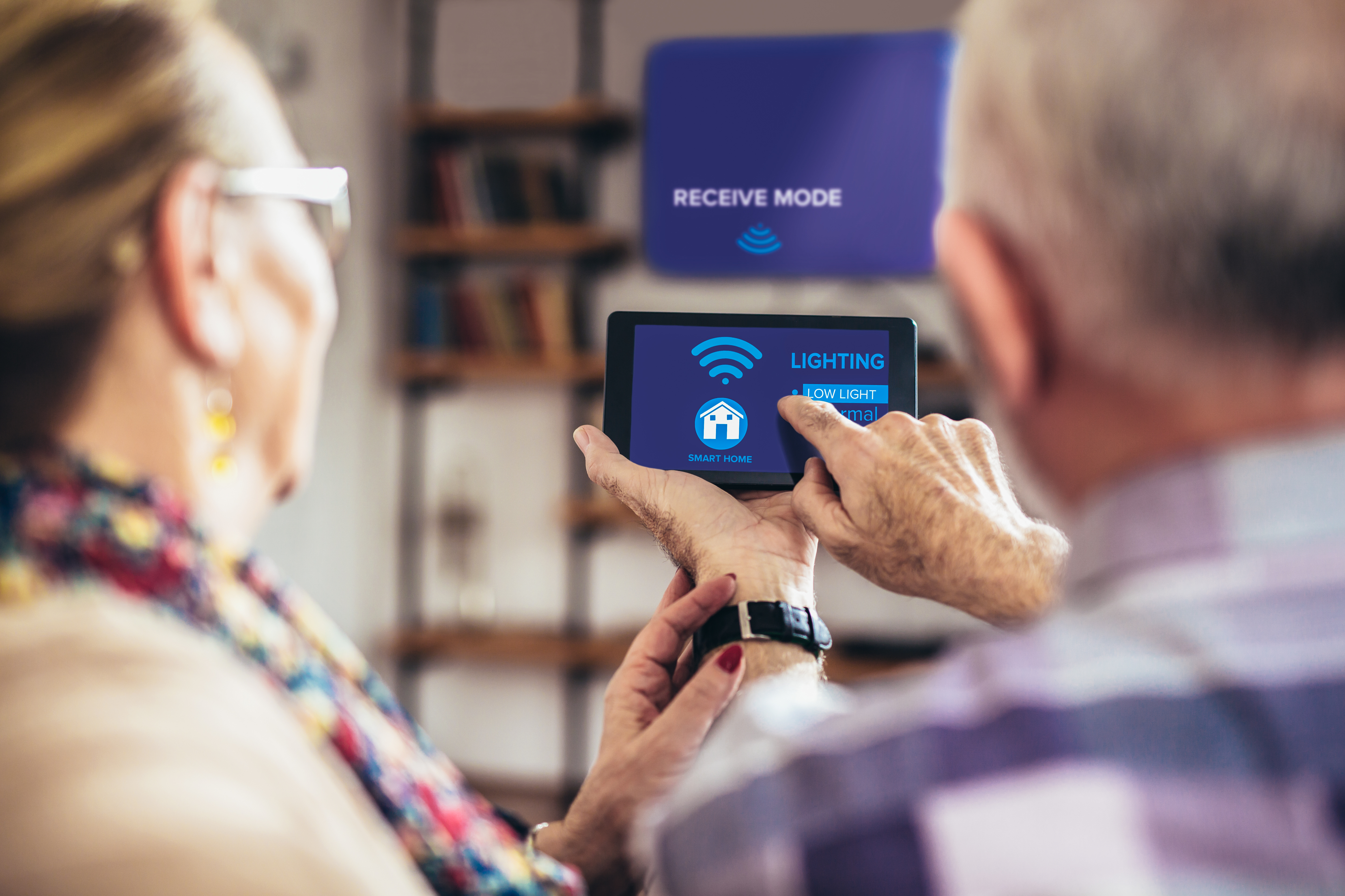 4 In-home Technology Tips for Seniors