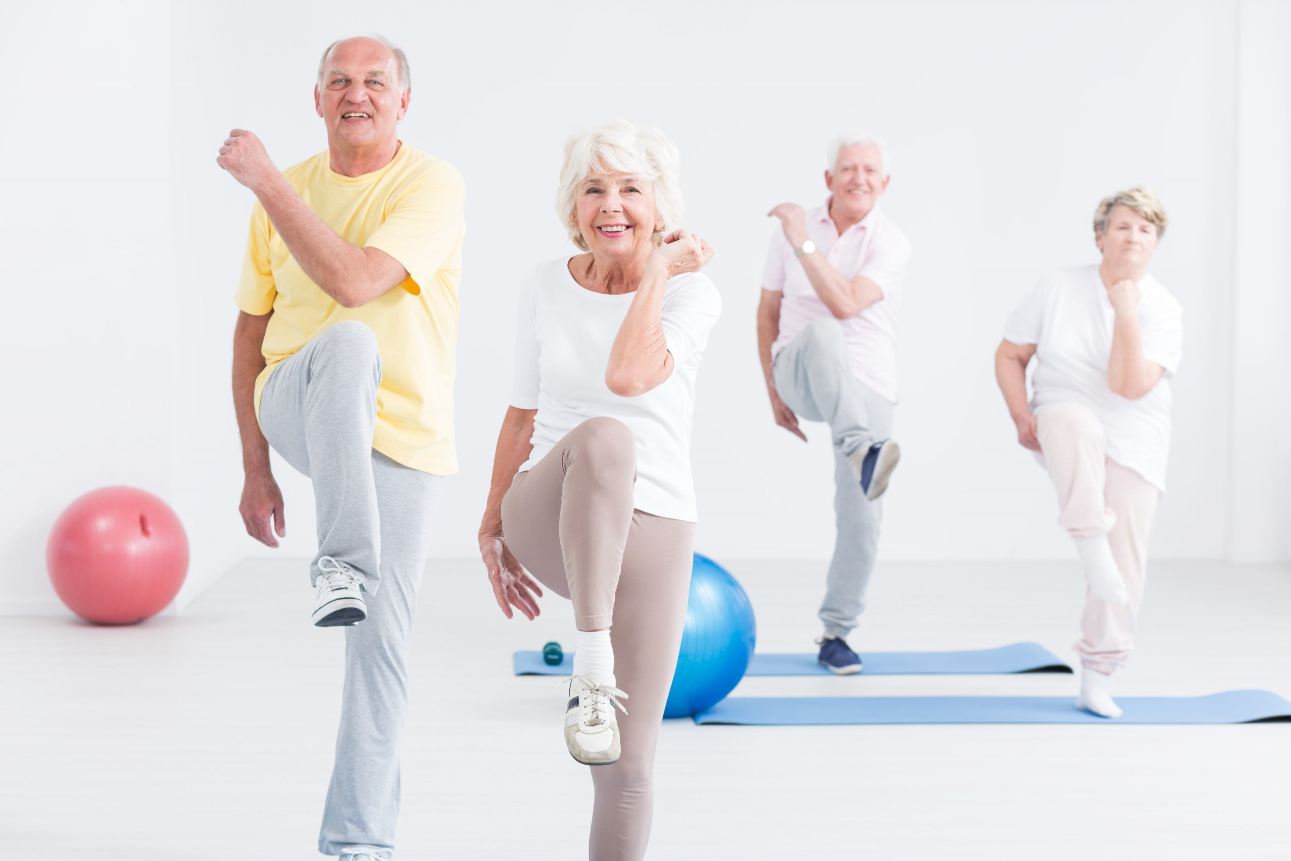 Don't Let COVID-19 Prevent Seniors From Being Active